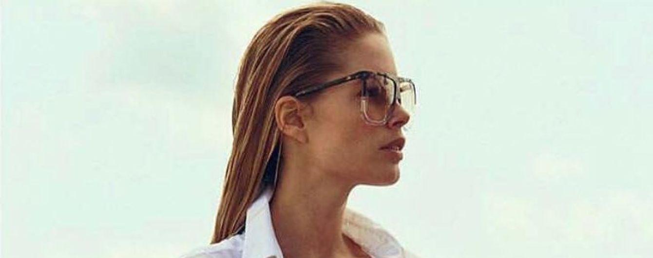 В белой рубашке и ярких плавках: Даутцен Крус похвасталась снимком с отдыха