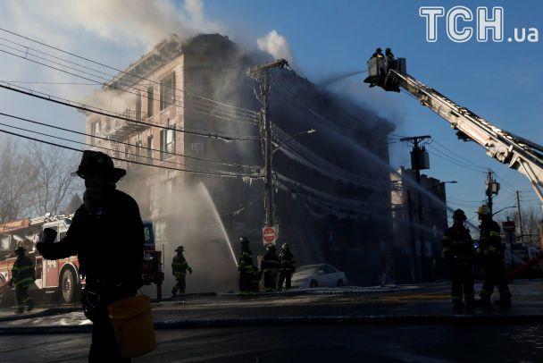 В Нью-Йорке снова горела многоэтажка - 16 пострадавших