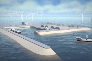 Нідерланди планують створити найбільшу у світі вітряну електростанцію зі штучним островом