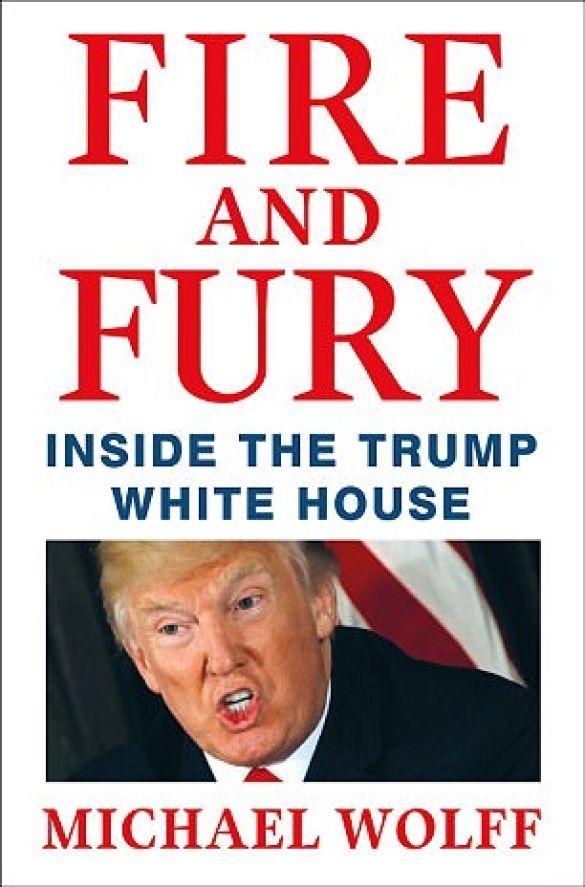 Fire and Rury, обкладинка книги Майкла Вулффа