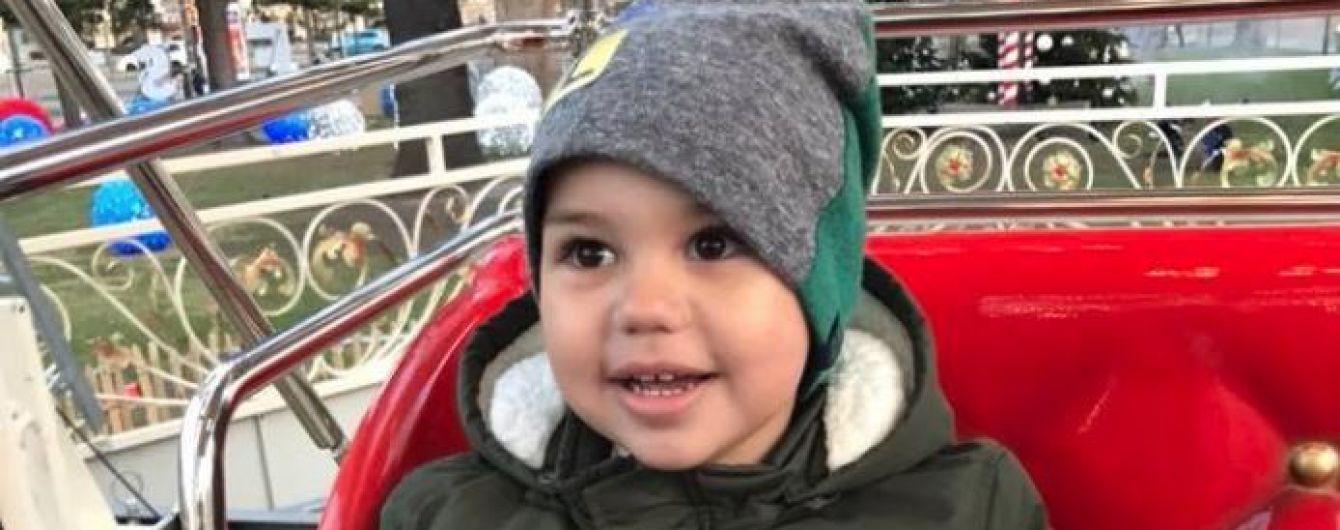 2-річний Максимко бореться за життя з рідкісною пухлиною мозку