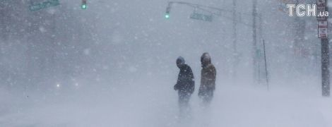 """Снежный шторм """"бомбит"""" США: рекордные морозы и почти два десятка погибших"""