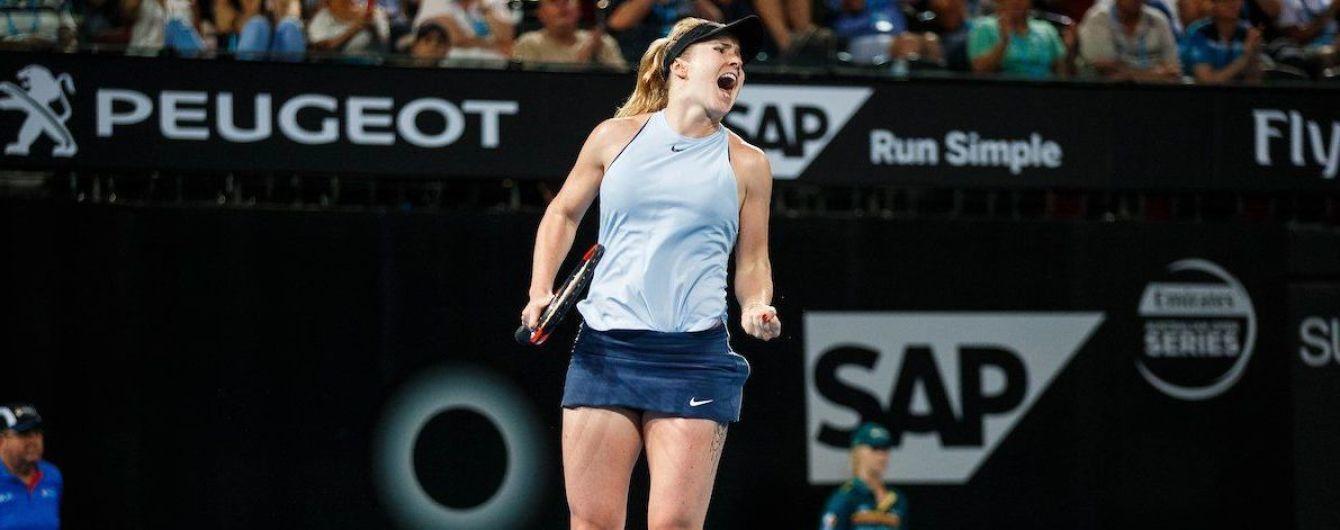 10-й титул. Світоліна виграла престижний турнір у Брісбені