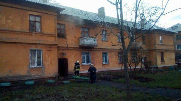 В Краматорске задержали поджигателя, который устраивал пожары и наблюдал за спасателями