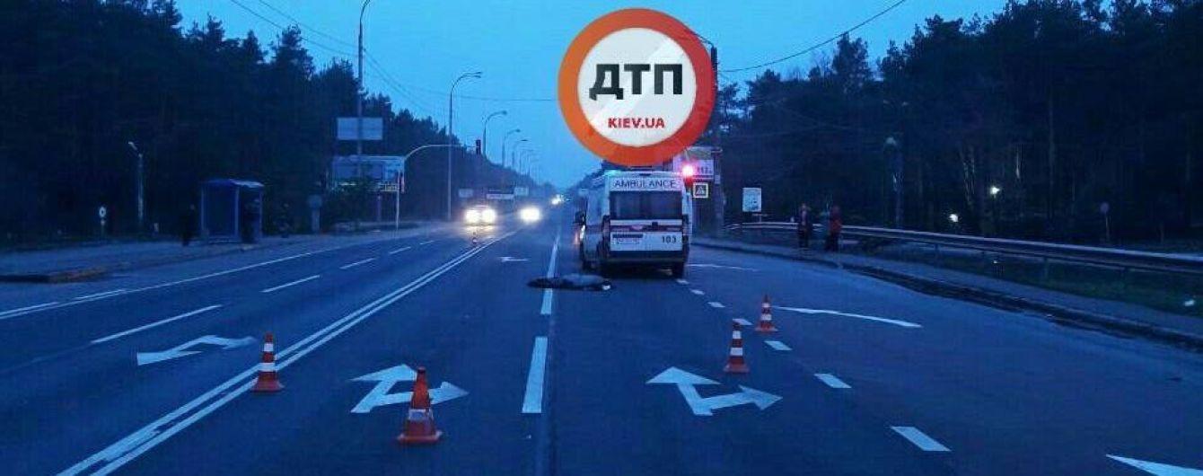 Поліція затримала водія, який збив на смерть жінку в Конча-Заспі і втік з місця ДТП