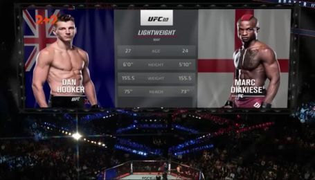 UFC 219. Дэн Хукер - Марк Диакизи. Видео боя