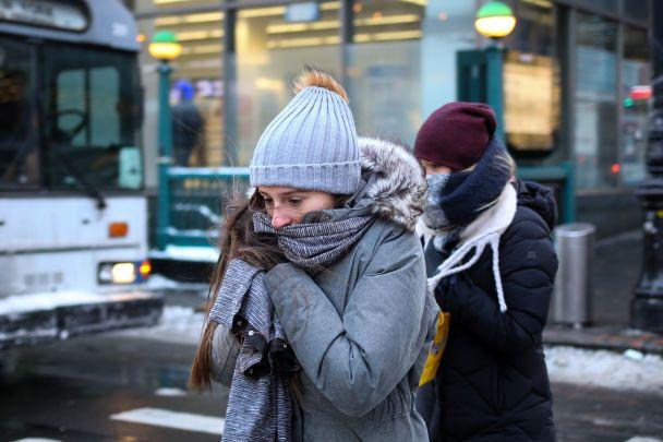 Около 100 млн американцев страдают от экстремального холода