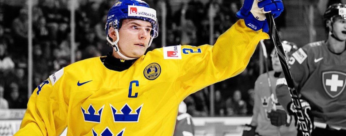 Шведський хокеїст засмутився поразкою та викинув медаль чемпіонату світу-2018