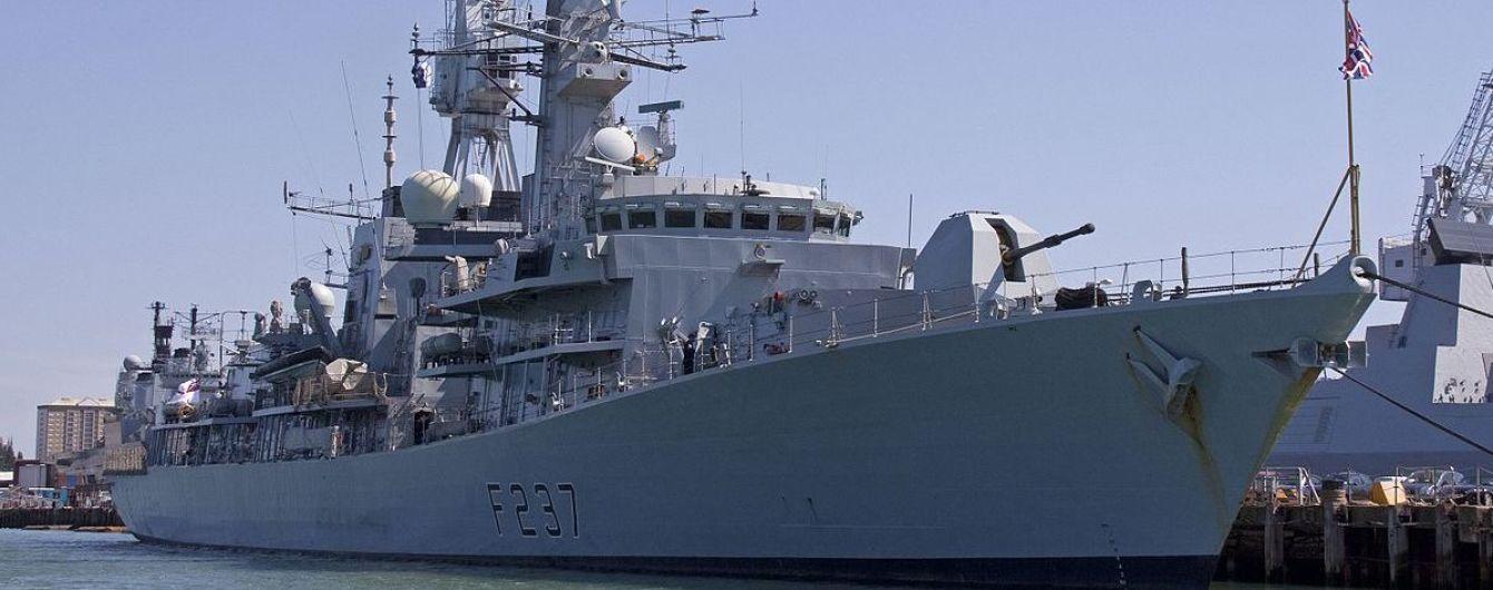 Британский фрегат вышел на перехват российских военных кораблей в Ла-Манше