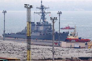 Перший у новому році есмінець НАТО прибув до Одеси
