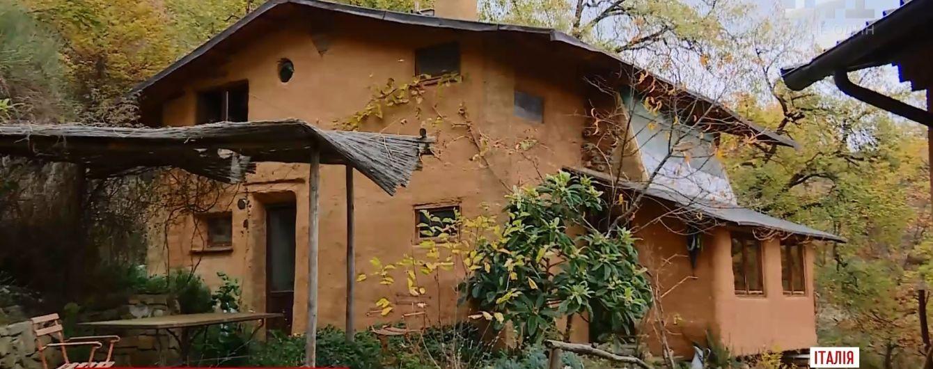 В Италии возникла мода на дома из биоотходов и натурального сырья