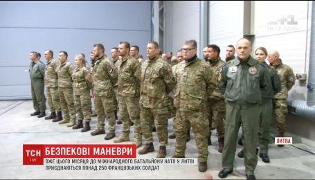 НАТО усиливает военное присутствие в Литве