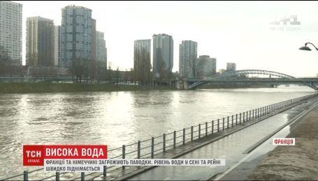 Через повені вода може затопити вулиці Парижа