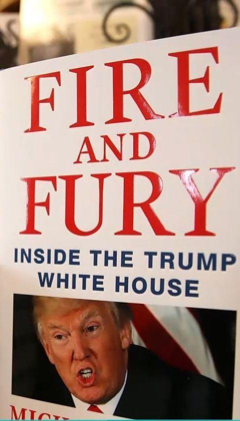 """""""Вогонь і лють"""": Трамп розкритикував скандальну книгу про себе"""