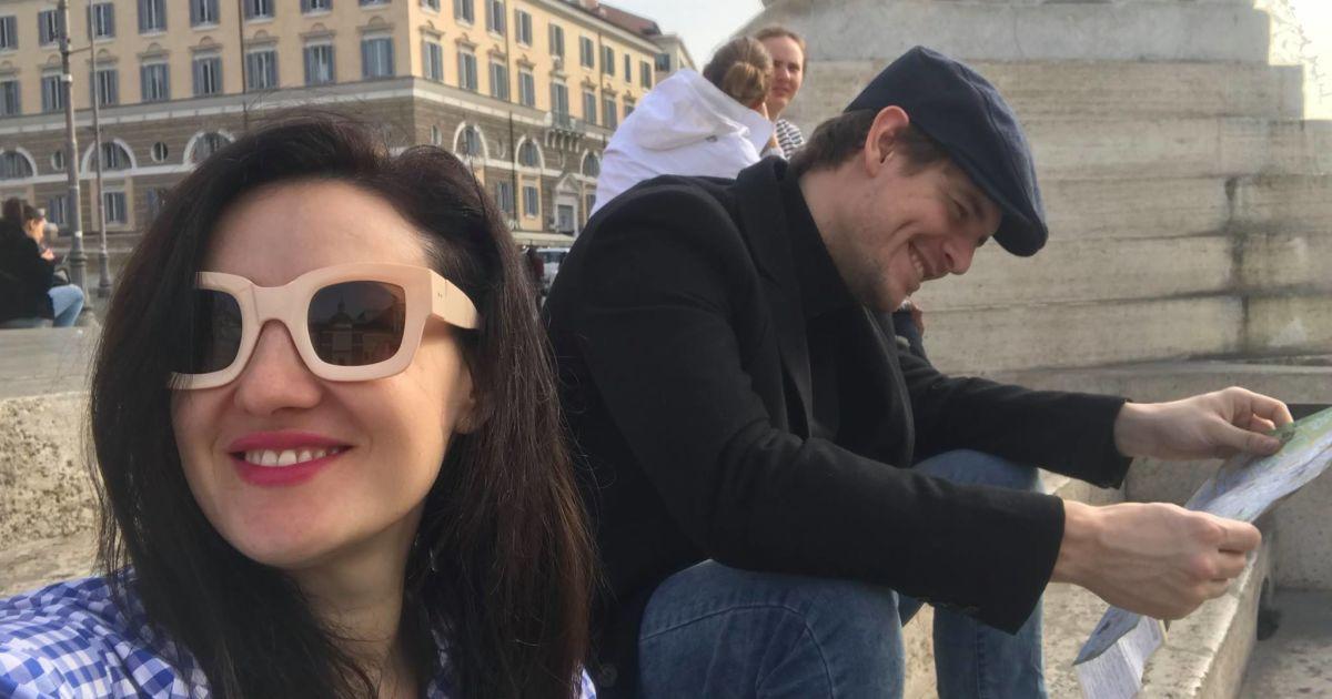 Соломия Витвицкая с мужем @ facebook.com/solomiya.vitvitska