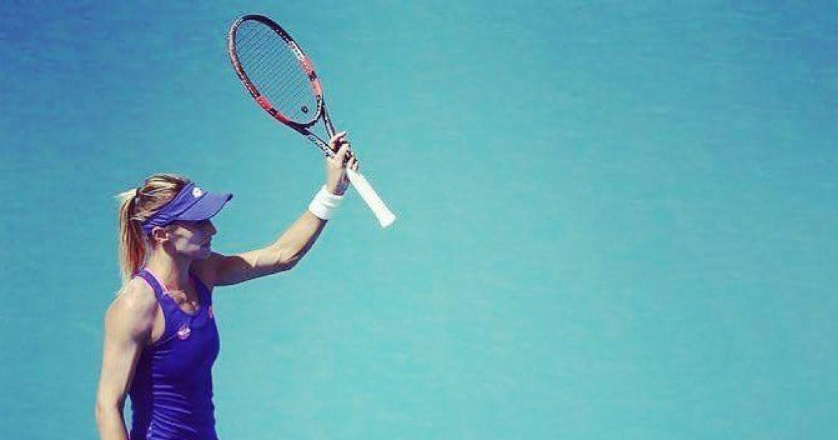 Українська тенісистка Цуренко впевнено вийшла до чвертьфіналу турніру серії  WTA International (5.83 23) de571970a5e6c