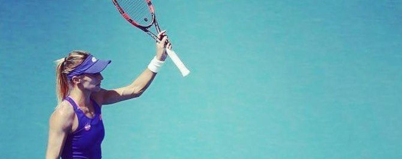 Украинская теннисистка Цуренко уверенно вышла в четвертьфинал турнира серии WTA International