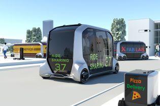 Мобільний офіс чи доставка піци: Toyota показала першу безпілотну платформу на колесах