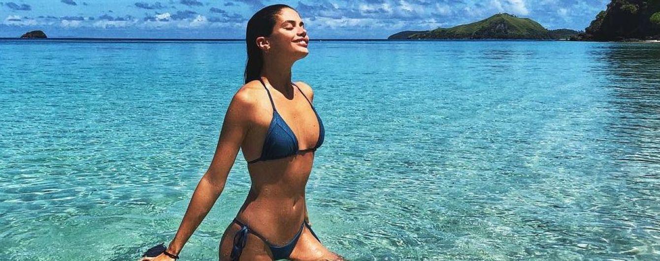 Сексуальная красотка: Сара Сампайо поделилась новыми снимками в бикини