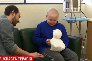 В США создали робота-игрушку для больных раком детей