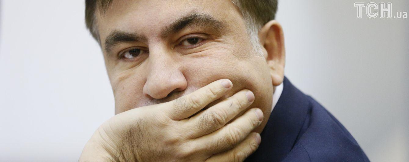 Саакашвілі кілька разів відмовився надати зразки свого голосу для слідства - Генпрокуратура