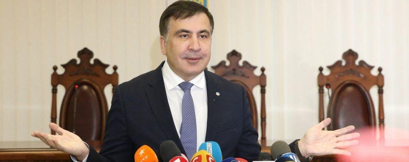 Саакашвили рассказал, о чем два часа говорил на допросе в прокуратуре
