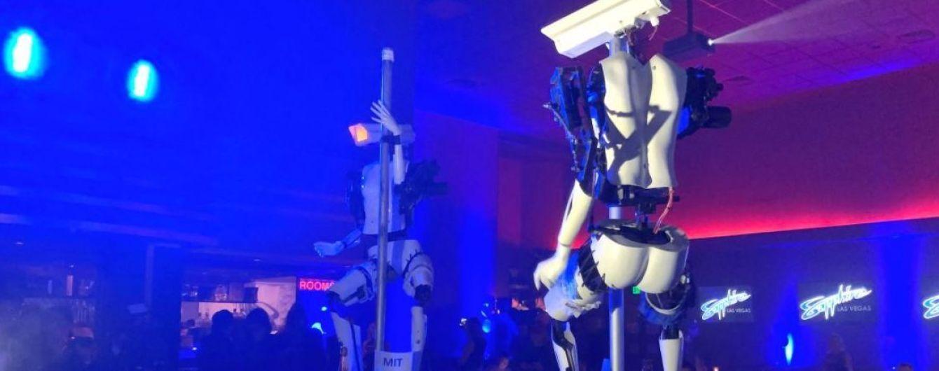 На крупнейшей выставке электроники CES роботы показали стриптиз
