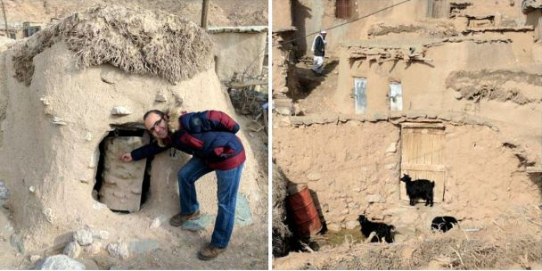 """Иранская """"Лилипутия"""": в тысячелетнем селе сохранились маленькие жилища аномально низких людей"""