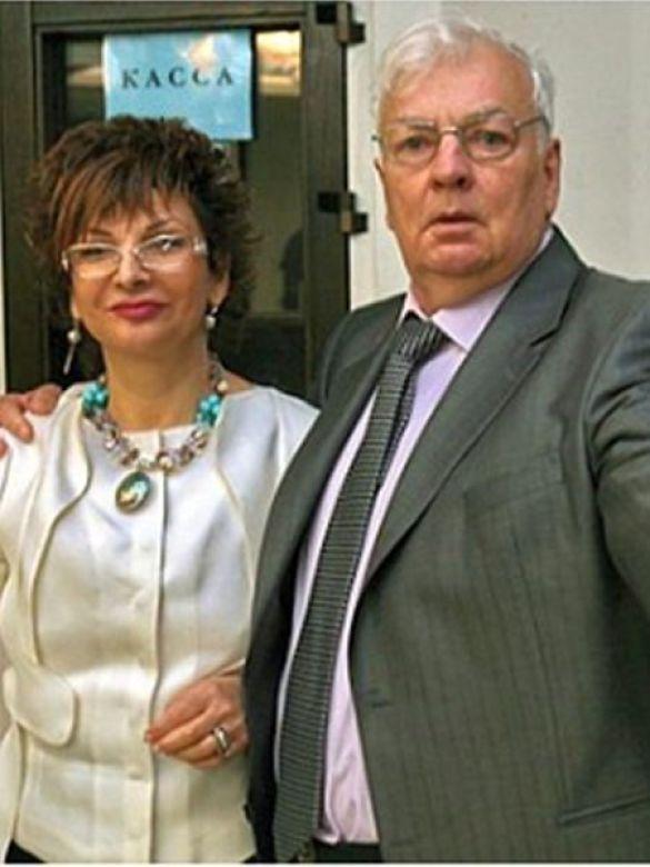 Михайло Державін з дружиною
