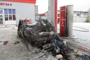 На Сумщине авто взорвалось на газовой заправке, есть пострадавшие