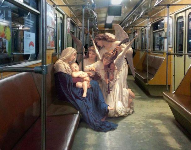 BuzzFeed посвятил материал украинскому художнику, который перемещает героев классических картин в современность