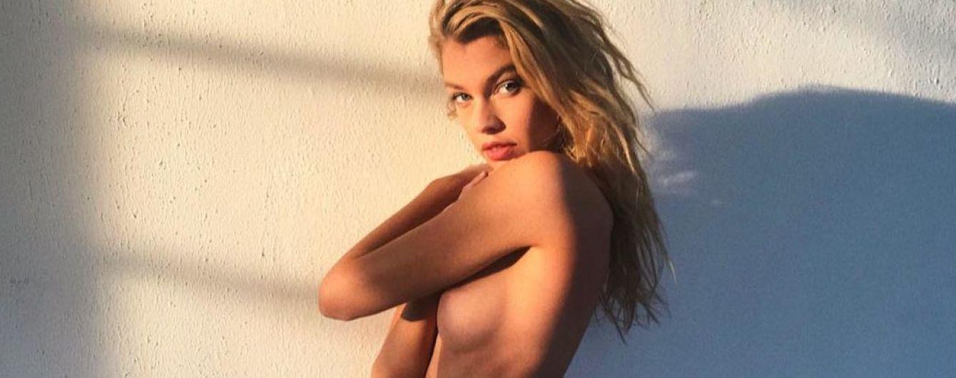 Подружка Кристен Стюарт - Стелла Максвелл, поделилась своим снимком топлес