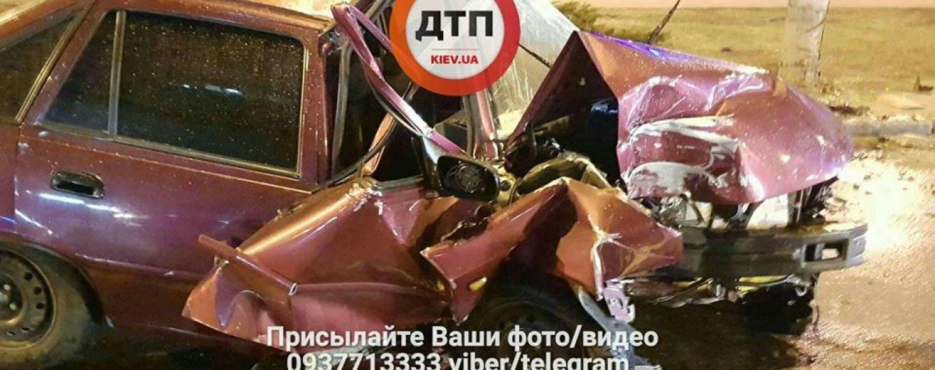 В ДТП в столице пострадал полковник Нацполиции