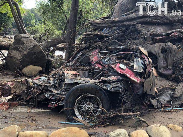 Новое стихийное бедствие в Калифорнии пострадали имения Эллен ДеДженерес и Опры Уинфри