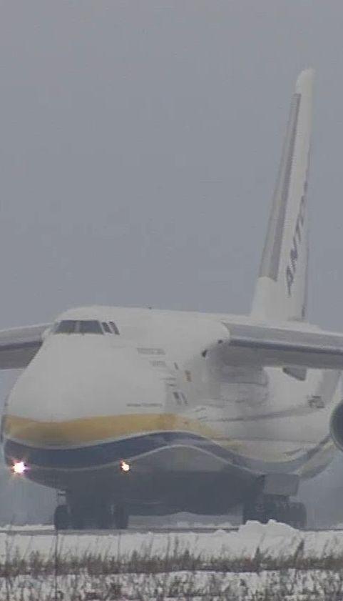 """Украинский самолет """"Руслан"""" будет перевозить детали ракеты Spacex"""