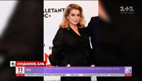 Катрин Денев выступила в защиту сексуальных домагательств