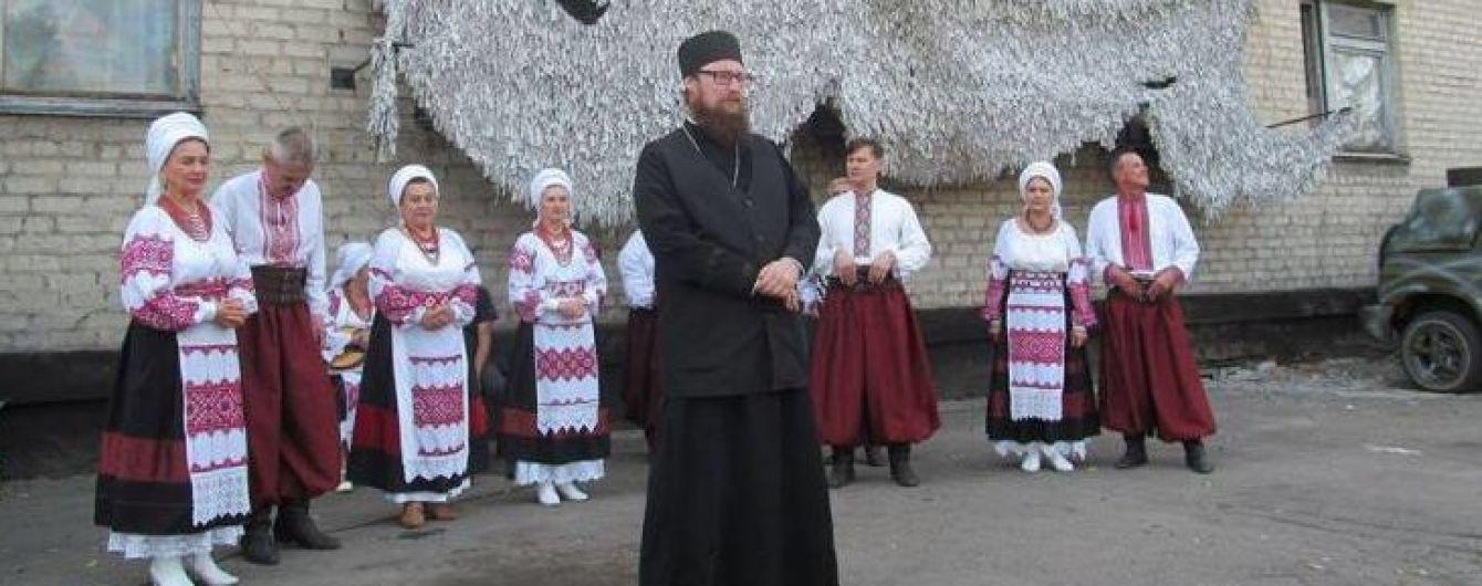 В церкви в Запорожье произошел скандал из-за священника, заговорившего на украинском