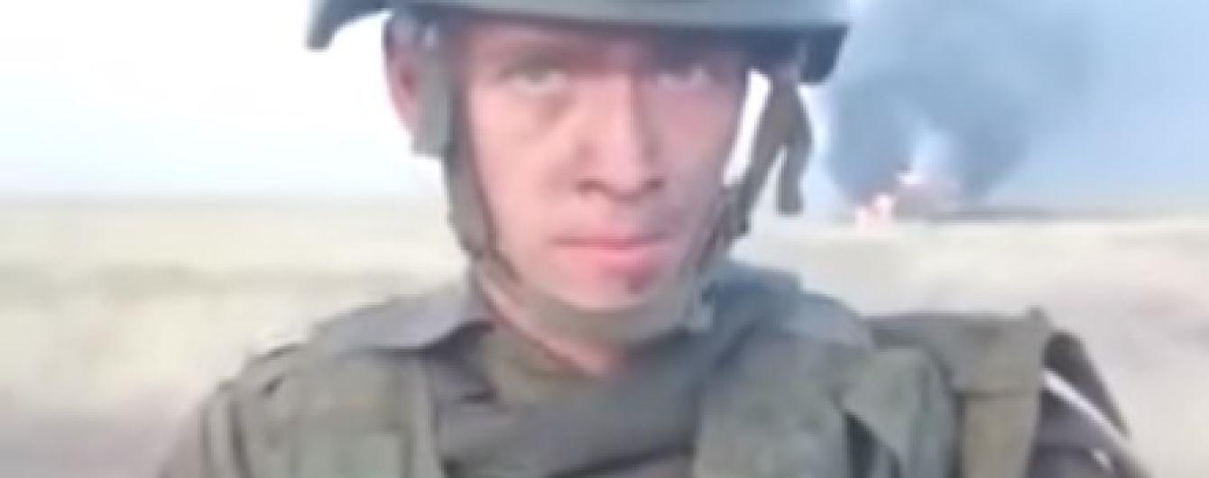 Разогрел обед: российский солдат случайно сжег БТР и амуницию на 28 миллионов рублей