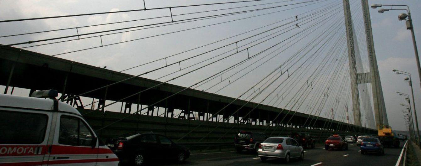 Київ частково обмежив рух транспорту на Південному мосту