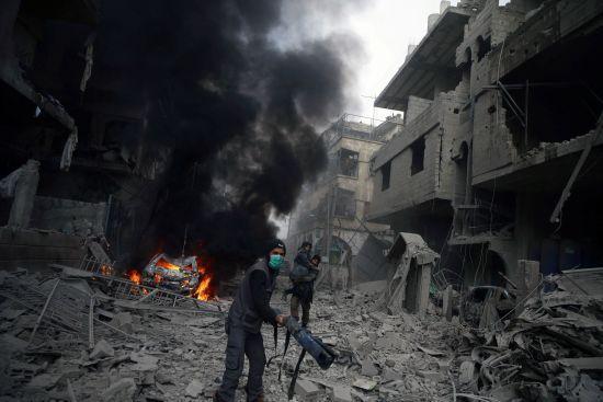 Україна спростувала підозри Росії в причетності до атаки на військову базу в Сирії