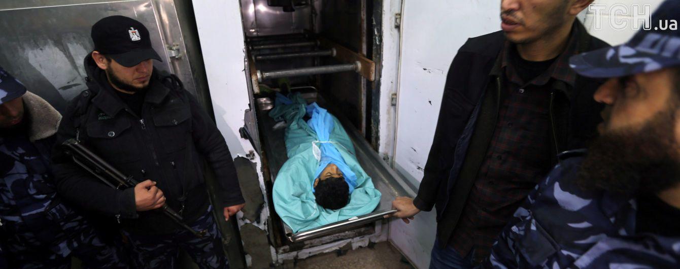 В столкновениях с израильскими силовиками погибли двое 16-летних палестинцев