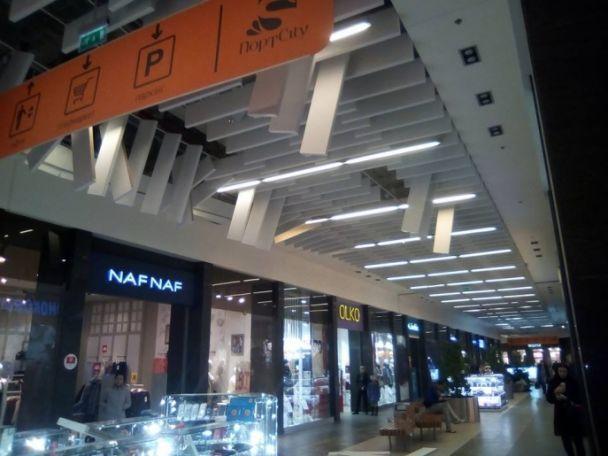 У Луцьку в торгово-розважальному центрі завалилася стеля