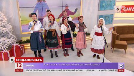 """Группа """"Рожаница"""" в студии """"Сніданка"""" спела в украинских традициях и рассказала о кавере на Despacito"""