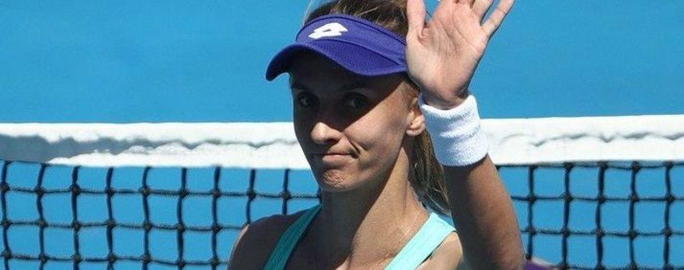 Цуренко второй раз подряд остановилась в шаге от финала престижного турнира в Австралии