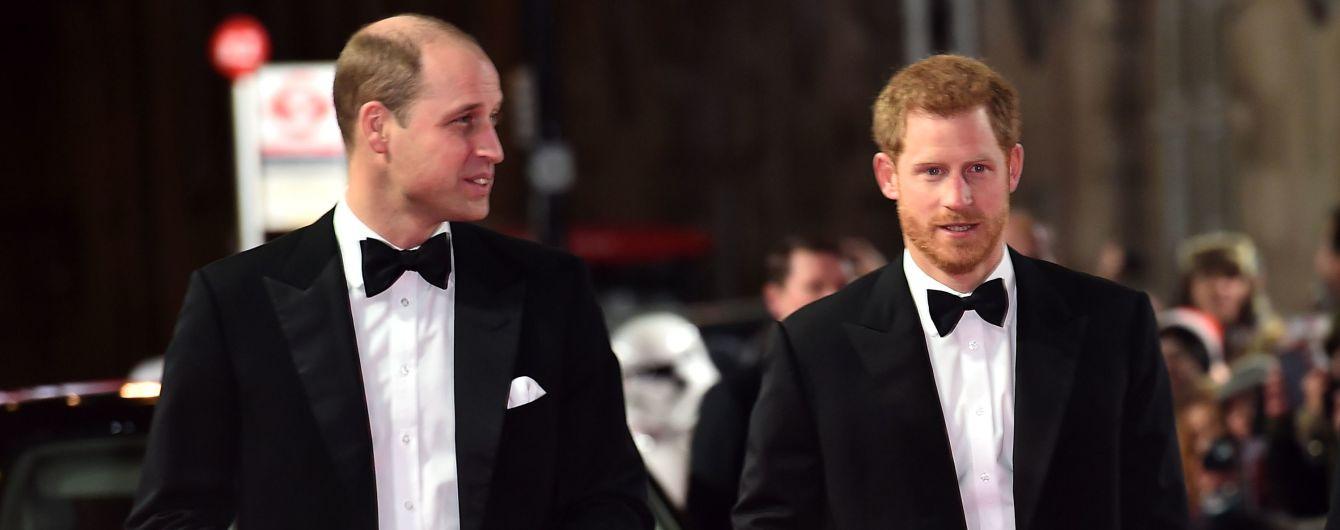 Принц Вільям пожалівся, що брат не покликав його свідком на своє весілля