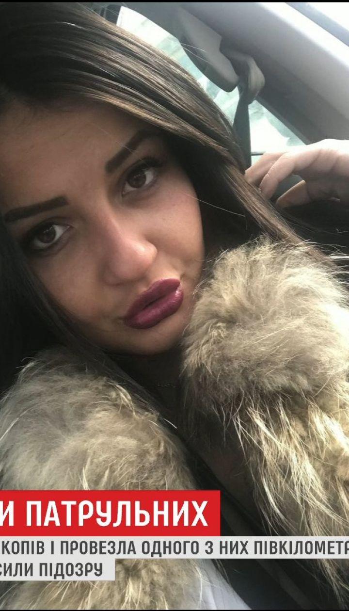 Водительнице, которая сбила копов во Львове, заочно объявили о подозрении