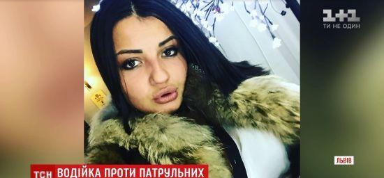 Зухвала львівська водійка, що збила копів на Різдво, могла виїхати за межі України