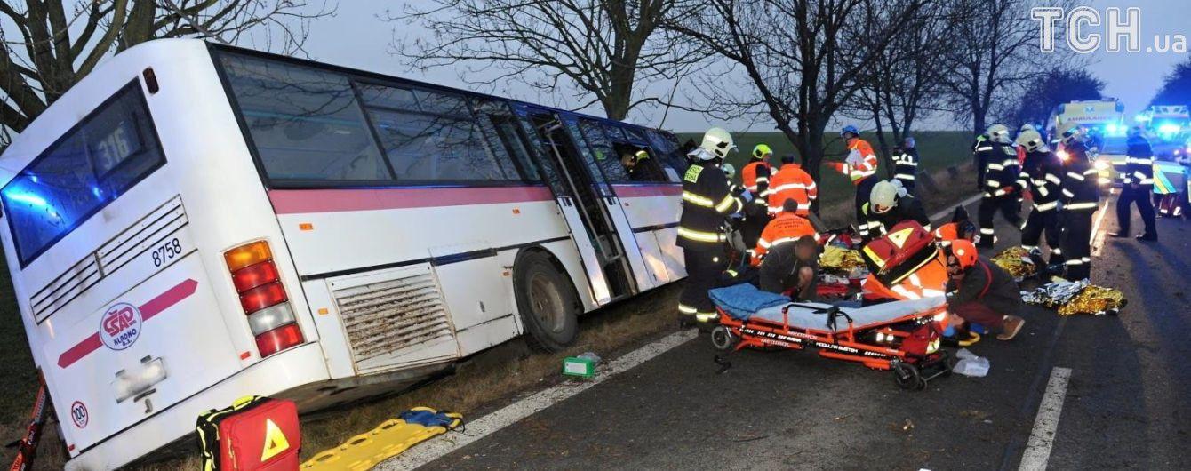 У смертельній ДТП з автобусом у Чехії українці не постраждали