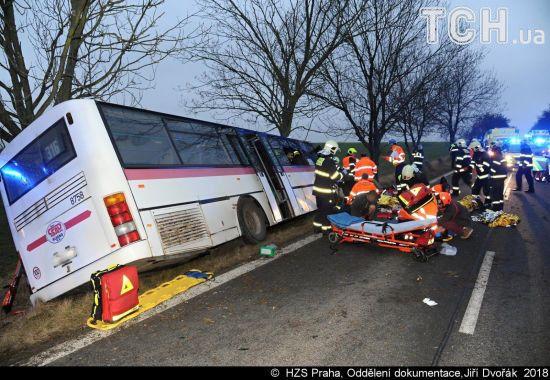 В смертельном ДТП с автобусом в Чехии украинцы не пострадали