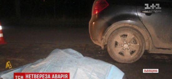 П'яний водій на Львівщині скоїв подвійний наїзд на пішоходів, коли їхав із місця першої ДТП